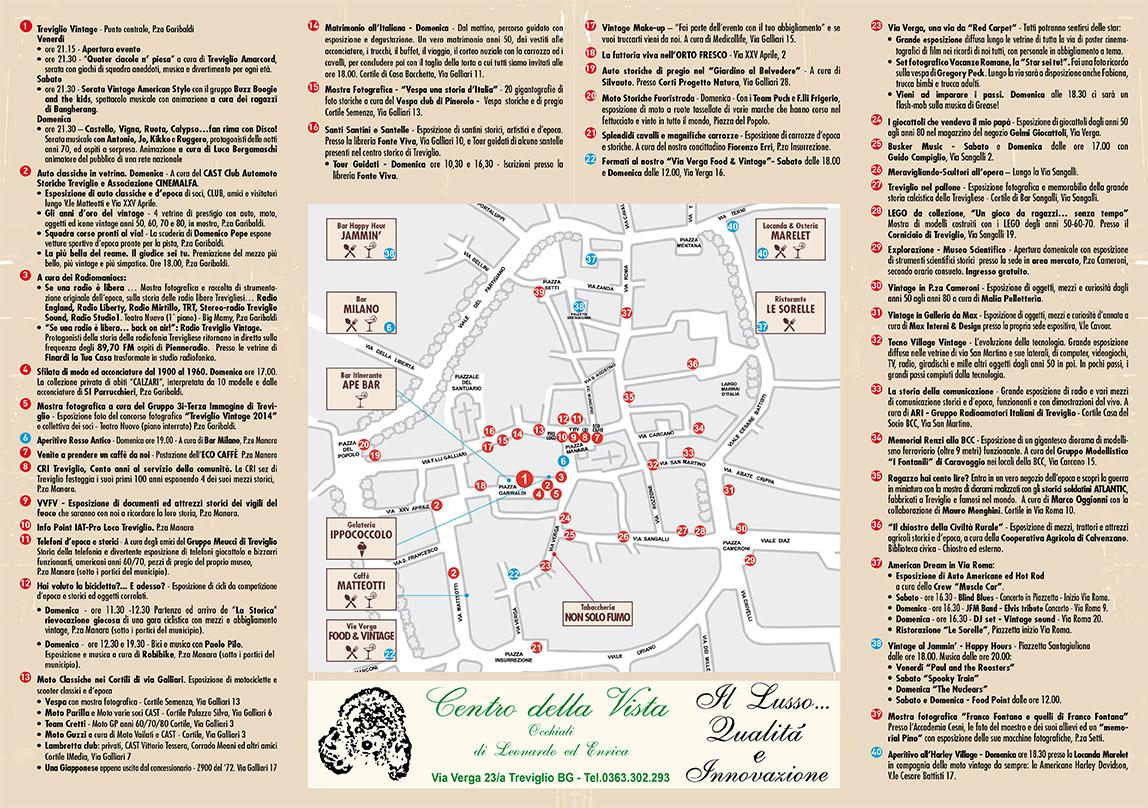 Mappa ufficiale Treviglio Vintage