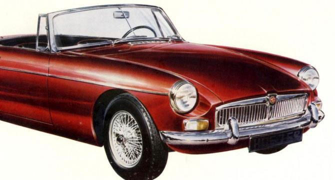 Le auto d'epoca Inglesi