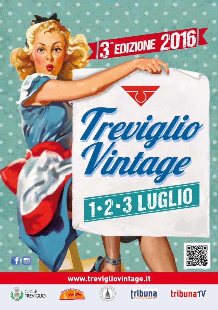 copertina programma treviglio vintage